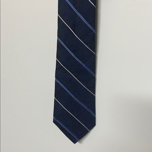 2 for $10 Blue and white Tommy Hilfiger tie